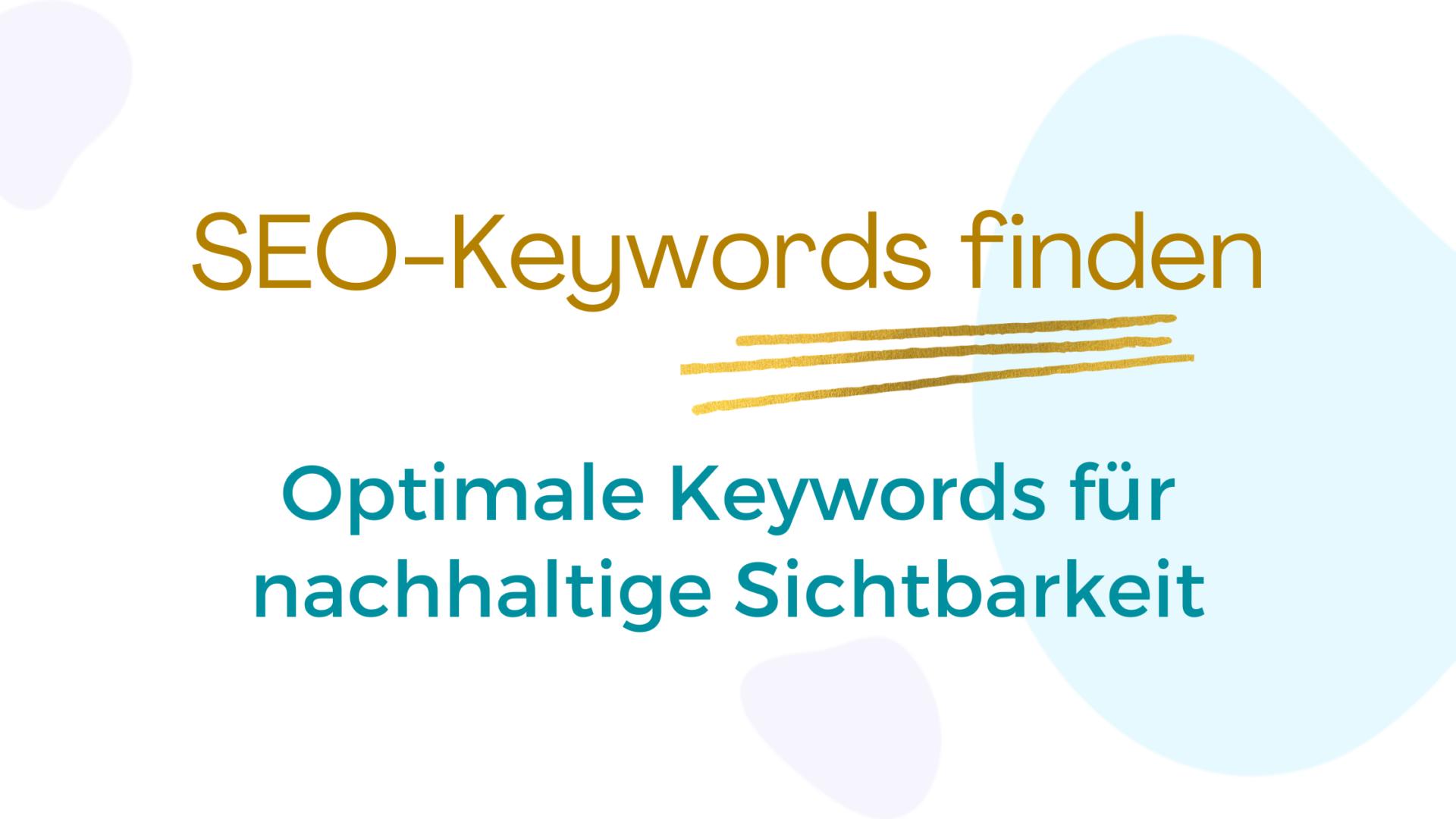 SEO Keywords finden