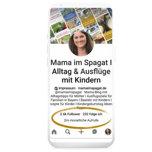 Referenz für erfolgreiches Pinterest Management